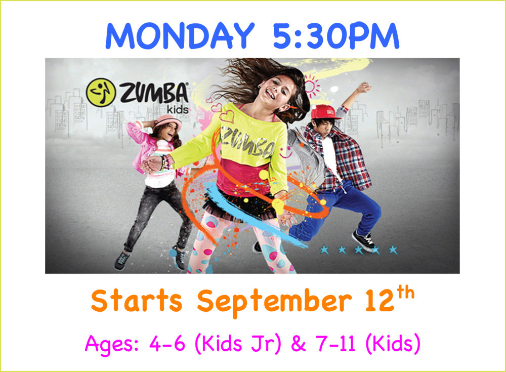 Kid's Zumba® Classes