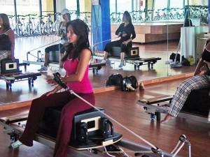 Pilates demo