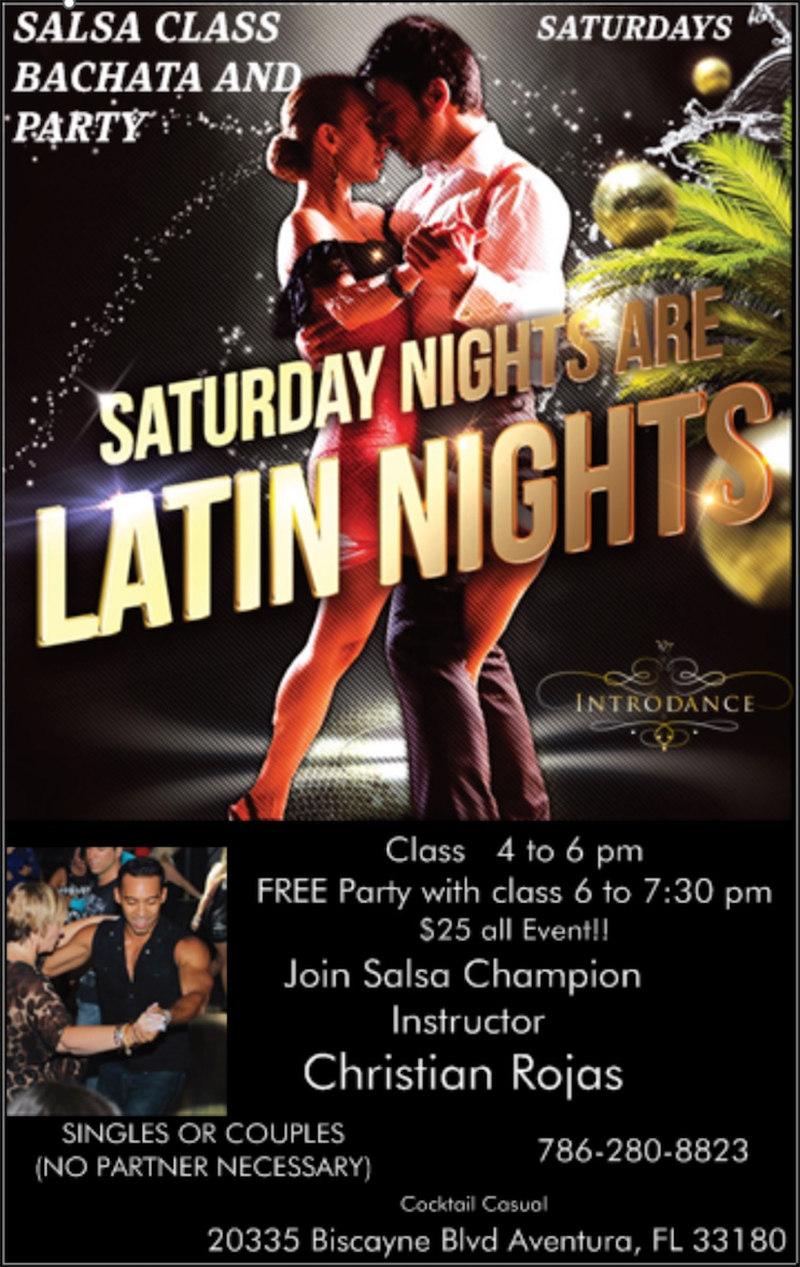 Salsa Nights at Olympia Gym in Aventura