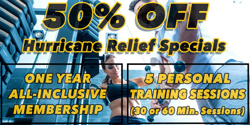 50% Off Hurricane Specials