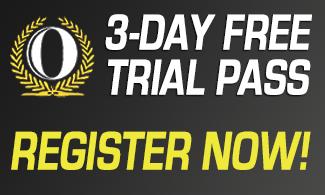 3-DAY FREE PASS