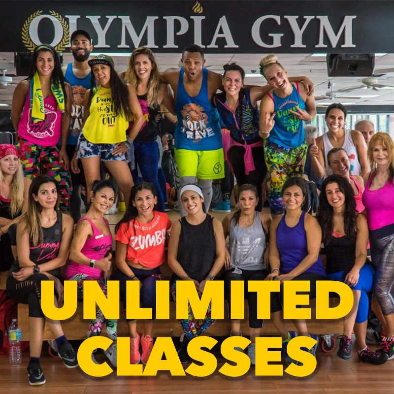 Unlimited Fitness Classes