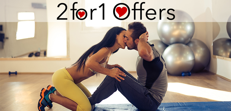 Valentine's 2 for 1 Membership Specials