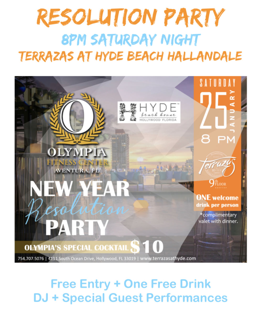 Olympia Gym Resolution Party
