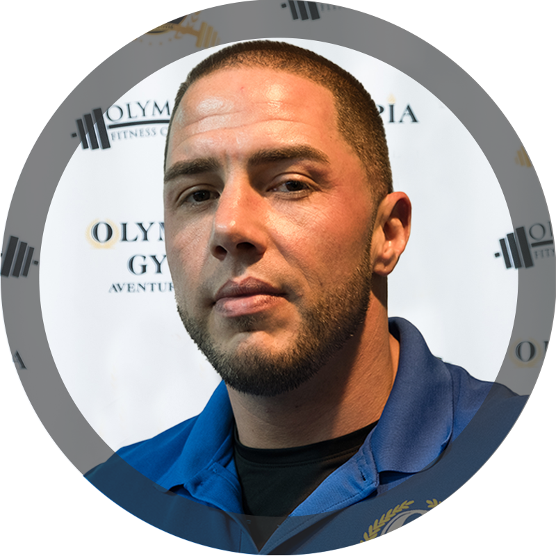 Michael Silva - Certified Personal Trainer at Olympia Gym & Personal Training Center