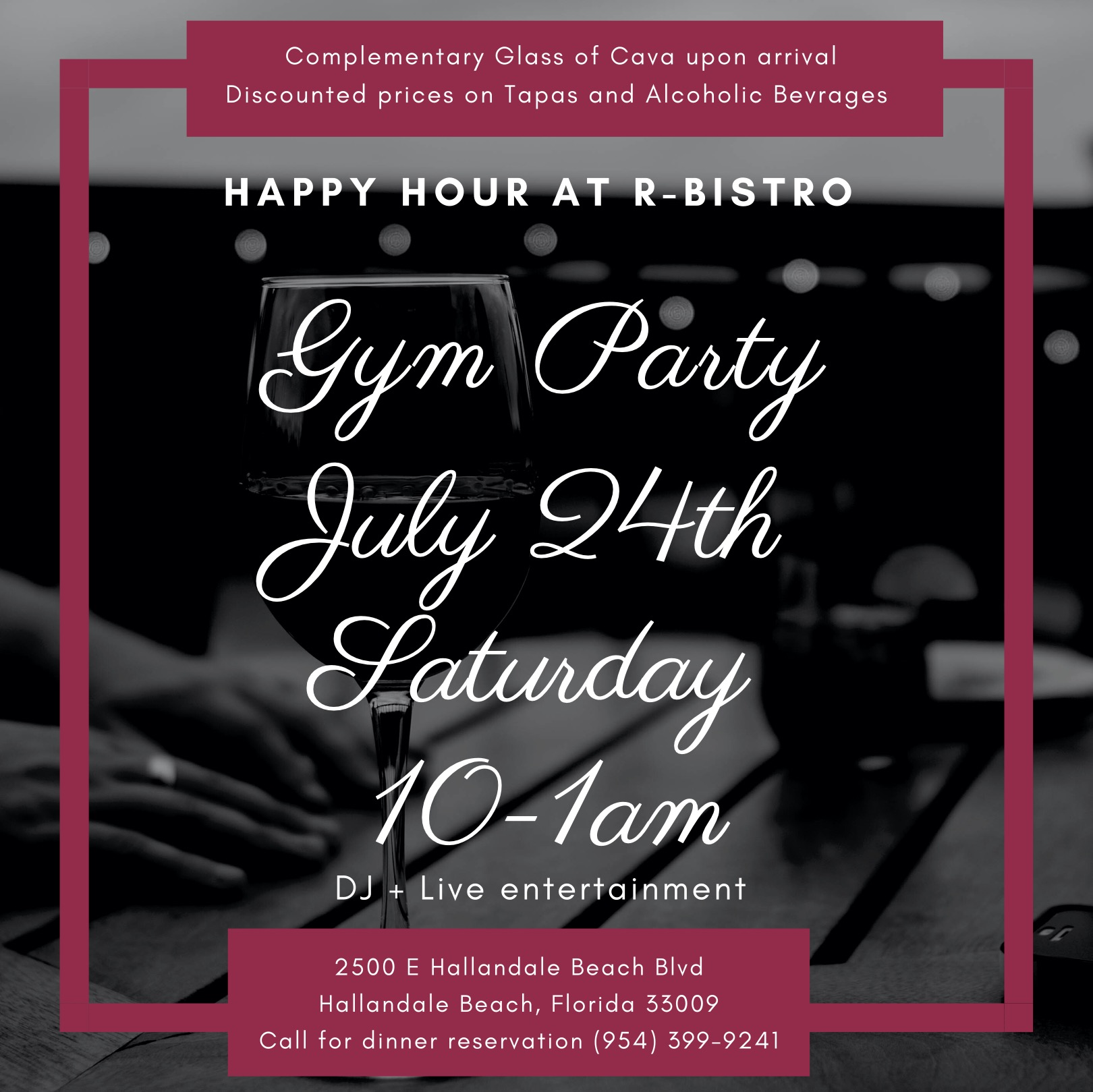 Happy Hour Party